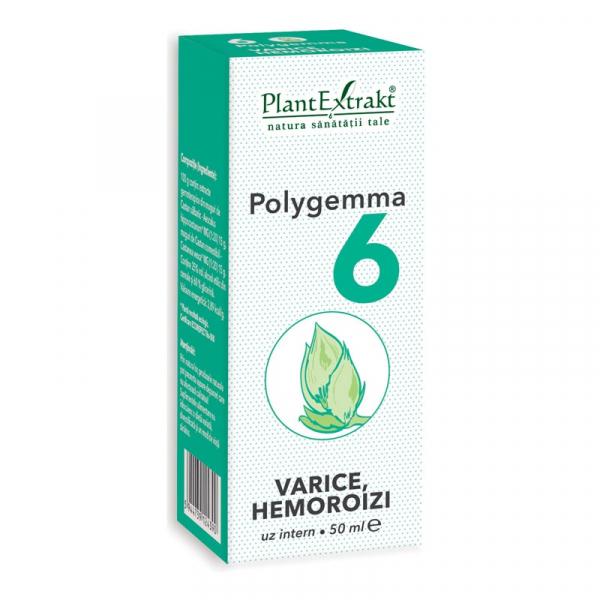 Polygemma 6 Varice Hemoroizi 50ml PlantExtrakt 0