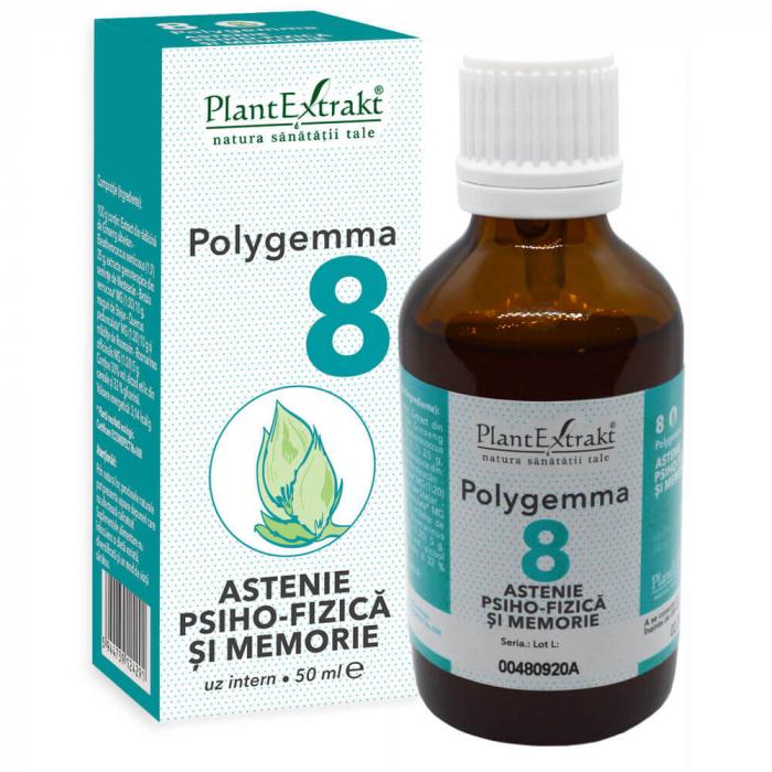 Polygemma 8 Astenie 50ml PlantExtrakt 1
