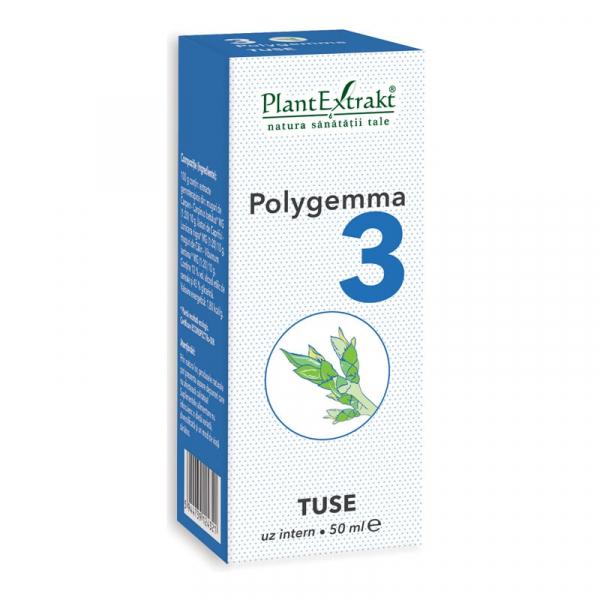 Polygemma Tuse 3 de 50ml PlantExtrakt 1