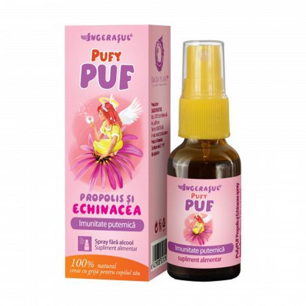 Pufy Puf Propolis si Echinacea Spray Fara Alcool 20ml Dacia Plant 0