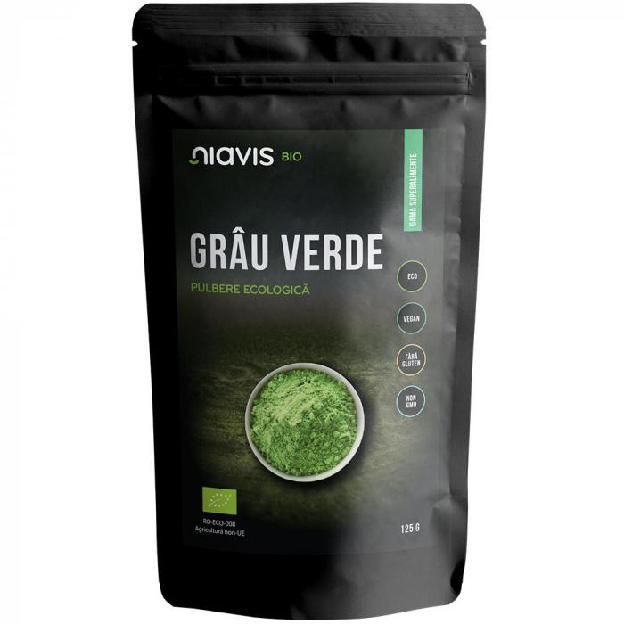 Pulbere de Grau Verde Ecologica/BIO 125g [1]