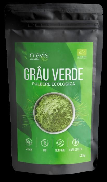 Pulbere de Grau Verde Ecologica/BIO 125g [0]