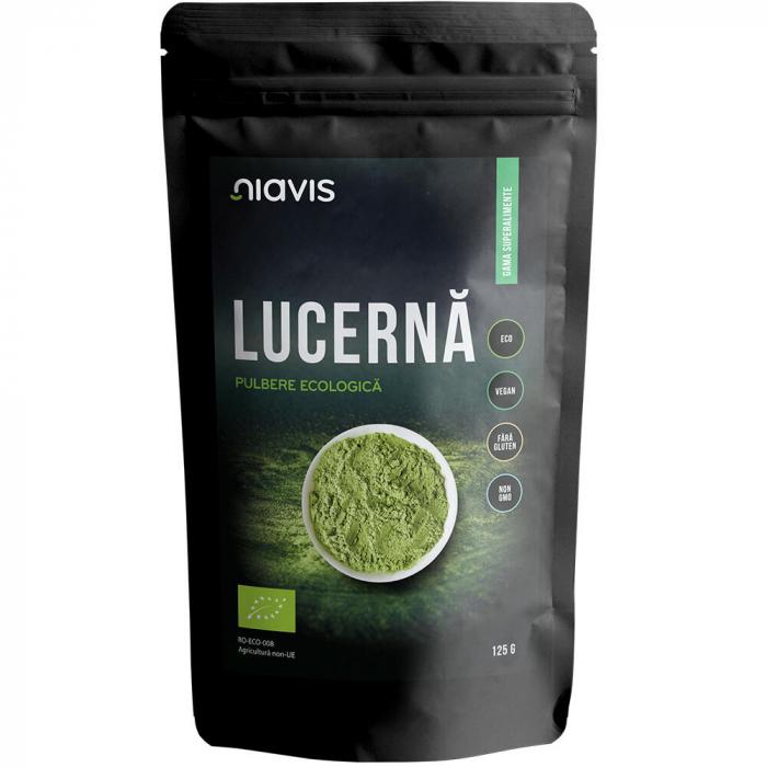 Pulbere de Lucerna (Alfalfa) Ecologica/Bio 125g [1]