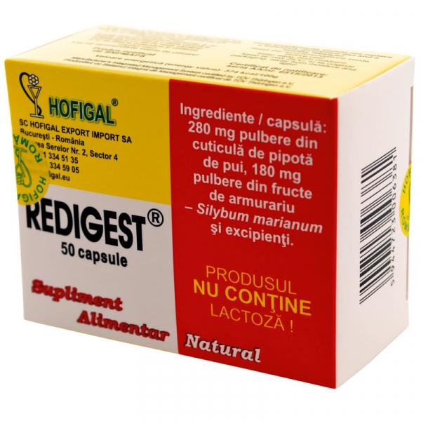 Redigest Capsule 50 buc Hofigal 0