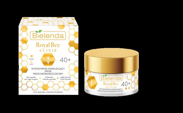 ROYAL BEE ELIXIR Crema de Fata Antirid  Intensiv Hidratanta 40+ zi/noapte 50 ml [2]