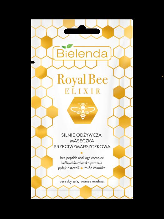 ROYAL BEE ELIXIR Masca de Fata Antirid  Hidratanta 8g [0]
