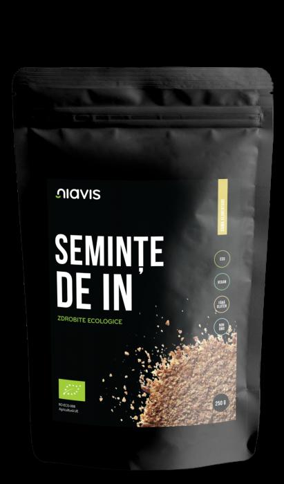 Seminte de In Zdrobite Ecologice/Bio 250g [1]