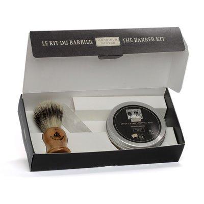 Set Cadou Barbati Kit Pamatuf, Piatra de Alaun, Sapun pentru Barbierit 150gr [0]