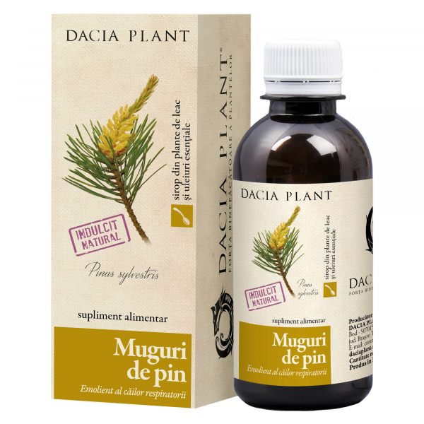 Sirop Muguri de Pin 200 ml Dacia Plant 0