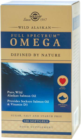 Spectru complet Omega (Full Spectrum) din Somon Sălbatic de Alaska – Wild Alaskan Full Spectrum softgels 120s [0]