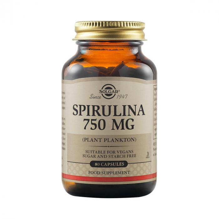 Spirulina 750mg 80caps [0]