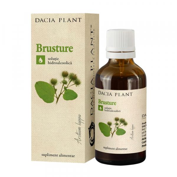 Tinctura de Brusture Dacia Plant 50 ml 0