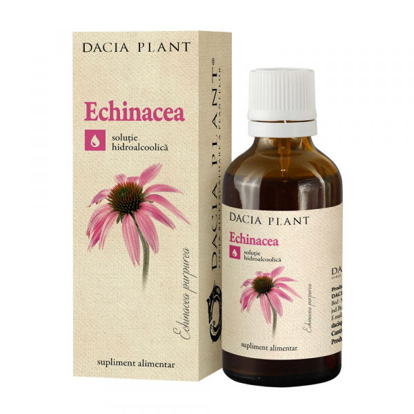 Tinctura de Echinacea 50 ml Dacia Plant 0