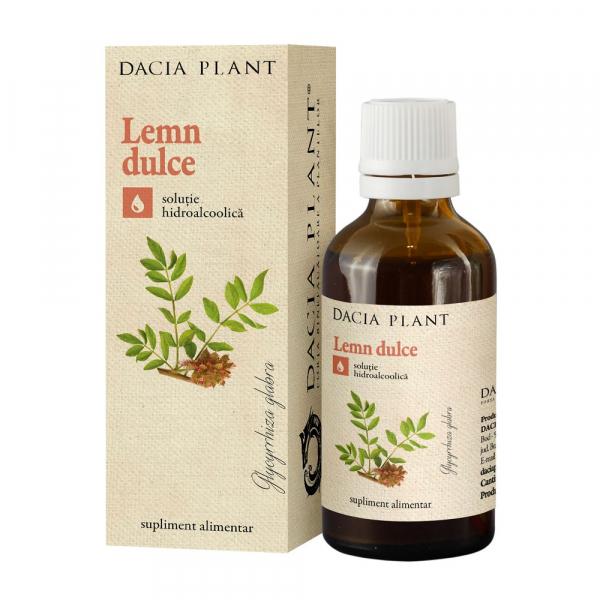 Tinctura de Lemn Dulce Dacia Plant 50 ml 0