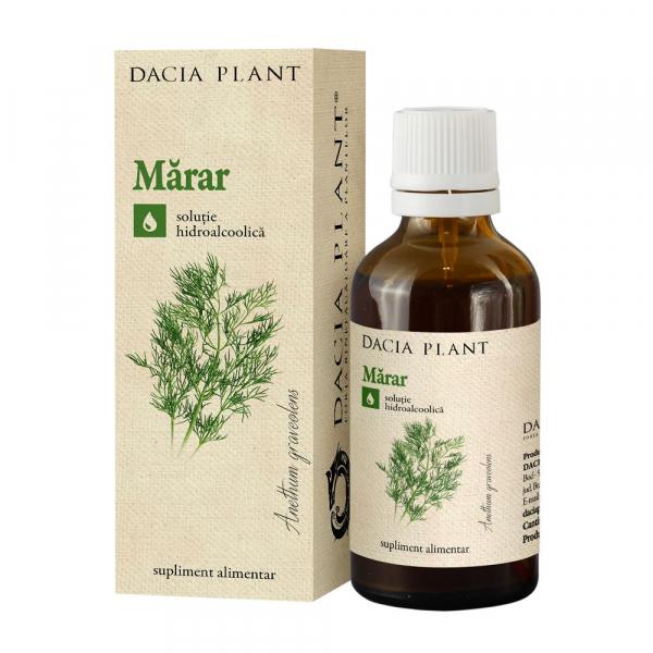 Tinctura de Marar Dacia Plant 50 ml [0]