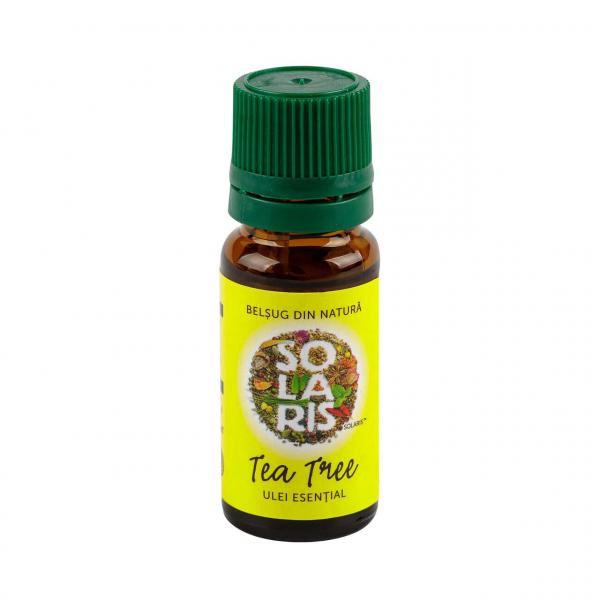 Ulei Esential de Arbore de Ceai (Tea Tree) 10 ml Solaris 0