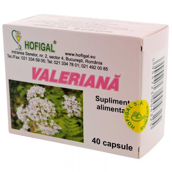 Valeriana Hofigal 40 Capsule 0