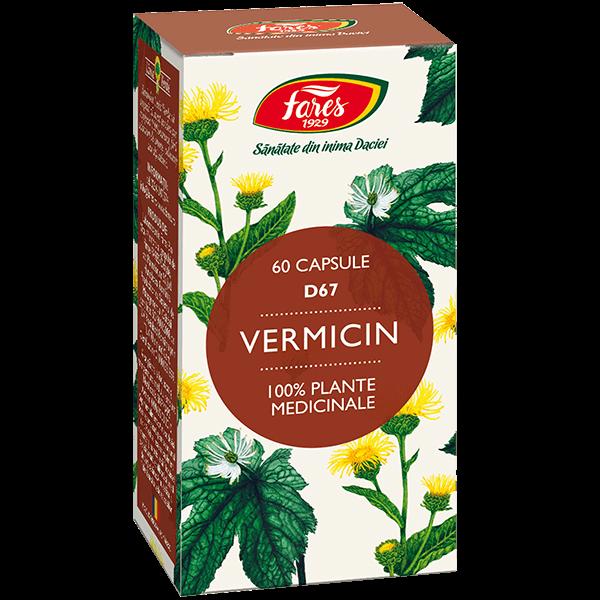 Vermicin Fares D67 60 buc [0]