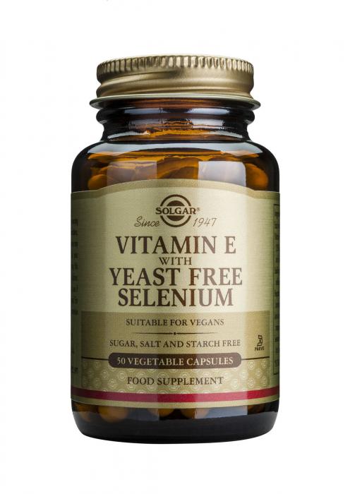 Vitamin E+ Selenium 50 veg. cps. [0]