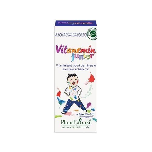 Vitanemin Junior Sirop 125 ml PlantExtrakt 0