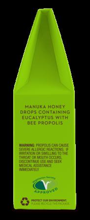Bomboane (Dropsuri) Ecologice cu Miere de Manuka, Eucalipt si Propolis 120g [3]