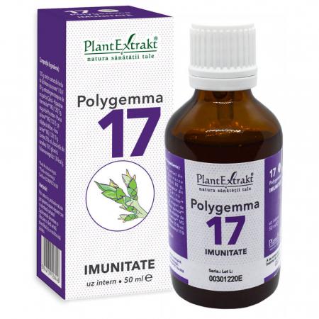 Polygemma 17 Imunitate 50ml PlantExtrakt1
