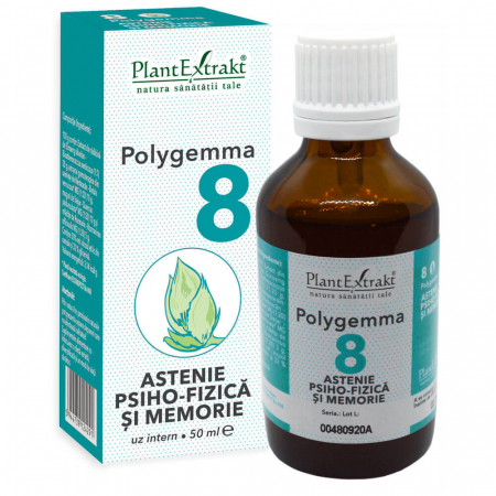 Polygemma 8 Astenie 50ml PlantExtrakt1