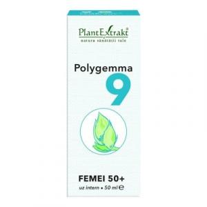 Polygemma 9 Femei 50+ 50ml PlantExtrakt0