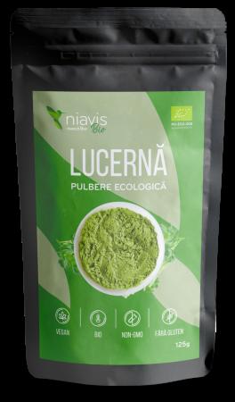 Pulbere de Lucerna (Alfalfa) Ecologica/Bio 125g [0]