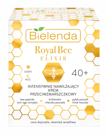 ROYAL BEE ELIXIR Crema de Fata Antirid  Intensiv Hidratanta 40+ zi/noapte 50 ml [1]