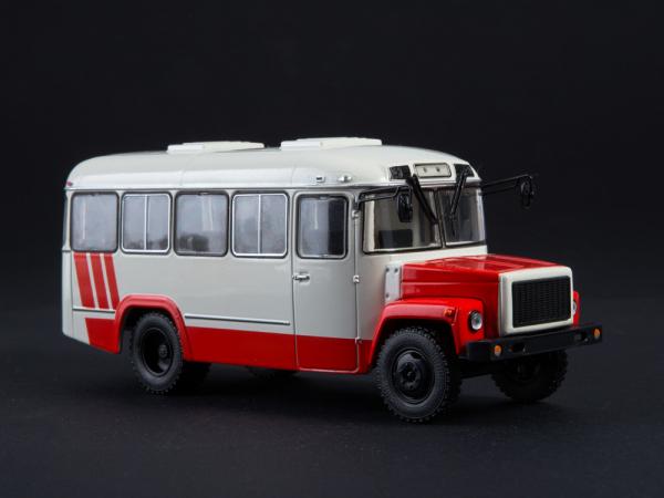 Macheta autobuz KAVZ-3976 cu revista, scara 1:43 0