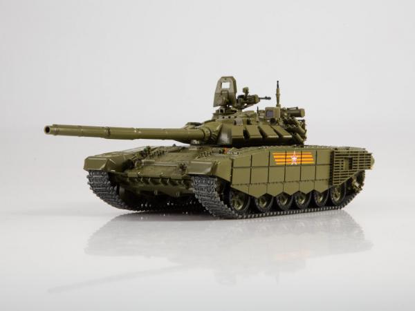 Macheta tanc rusesc T-72B3 2016, scara 1:43 0