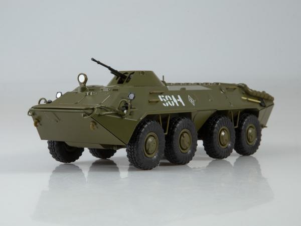 Macheta transportor blindat rusesc BTR-70, scara 1:43 0