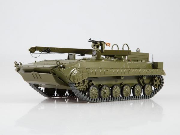 Macheta tanc rusesc BREM-2, scara 1:43 0