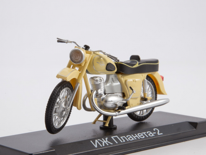 Macheta motocicleta ruseasca IJ-Planeta 2, scara 1:24 [0]