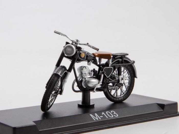 Macheta motocicleta ruseasca M-103, scara 1:24 [0]