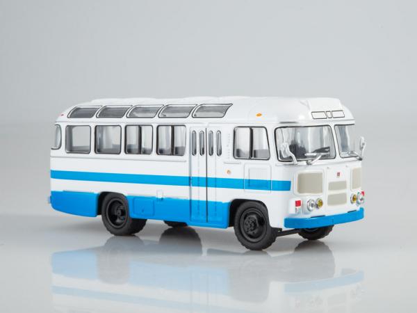 Macheta autobuz PAZ-672M, scara 1:43 0