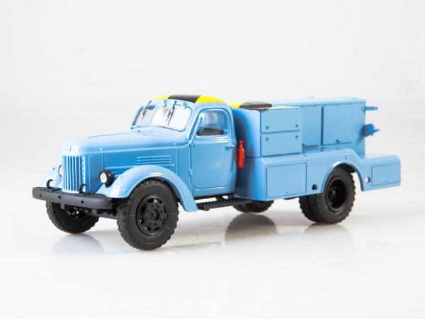 Macheta auto camion demaror avioane APA-35-2 (Zil 164), scara 1:43 0