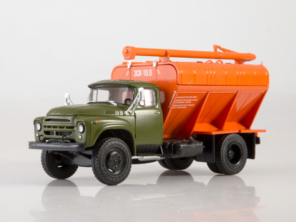 Macheta auto camion transport furaje Zil-130, scara 1:43 0