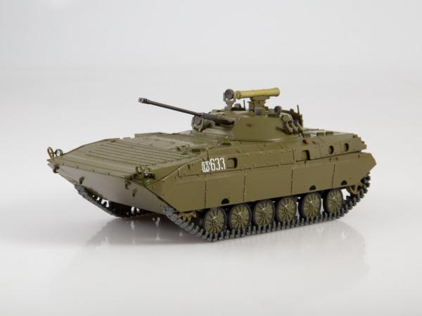 Macheta transportor blindat rusesc BMP-2D, scara 1:43 0