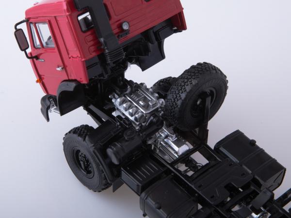 Macheta cap tractor Kamaz 44108, scara 1:43 5