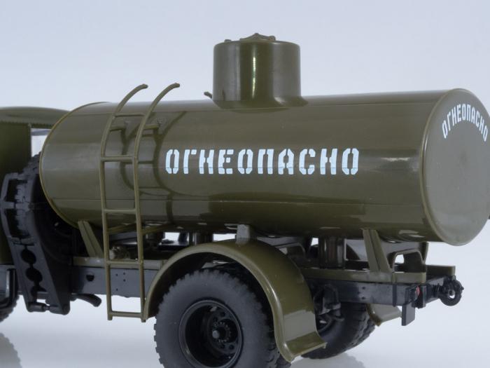 Macheta cisterna AC-8 pe sasiu MAZ-200, scara 1:43 [5]