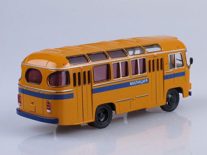 Macheta autobuz PAZ-672M Militia, scara 1:43 [2]