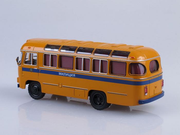 Macheta autobuz PAZ-672M Militia, scara 1:43 [3]