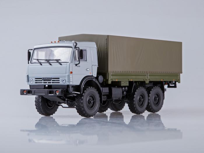Macheta camion Kamaz 53501 6x6, scara 1:43 [4]