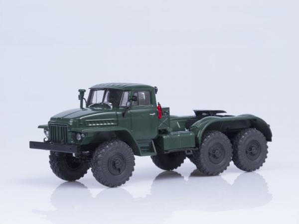 Macheta cap tractor URAL 375S-K1, scara 1:43 0