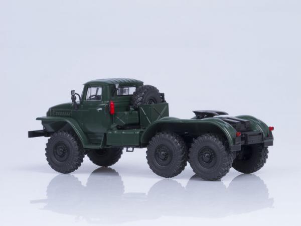 Macheta cap tractor URAL 375S-K1, scara 1:43 1