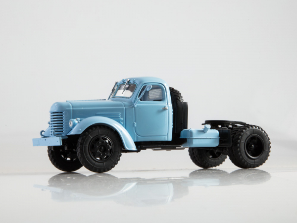 Macheta auto camion cap tractor Zis-MMZ-120N, scara 1:43 1