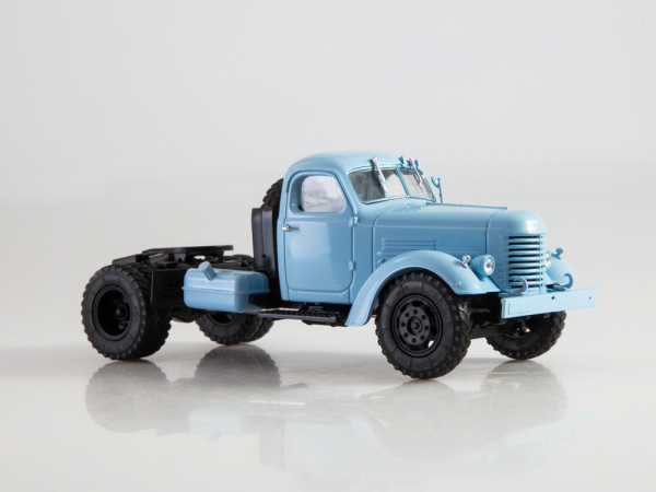 Macheta auto camion cap tractor Zis-MMZ-120N, scara 1:43 3
