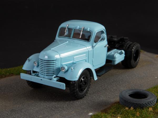 Macheta auto camion cap tractor Zis-MMZ-120N, scara 1:43 5
